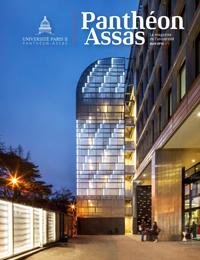 Couverture du magazine Panthéon Assas n°1