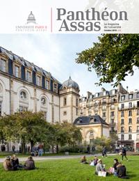 Couverture du magazine Panthéon Assas n°2