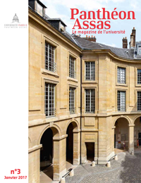 Couverture du magazine Panthéon Assas n°3