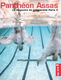 Couverture du n°8 du magazine Panthéon-Assas