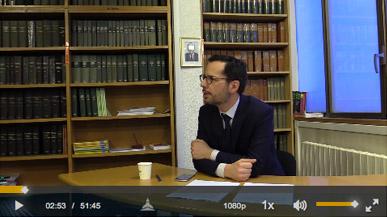 Capture écran de la vidéo de Sylvain Bollée