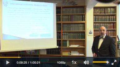 Capture écran de la vidéo de Symeon Symeonides