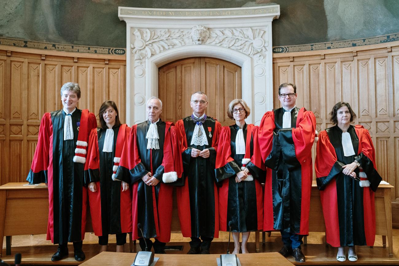 Photo des membres du jury du concours national d'agrégation de droit privé et sciences criminelles