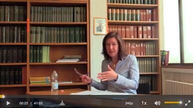 Capture écran de la vidéo de Hannah Buxbaum