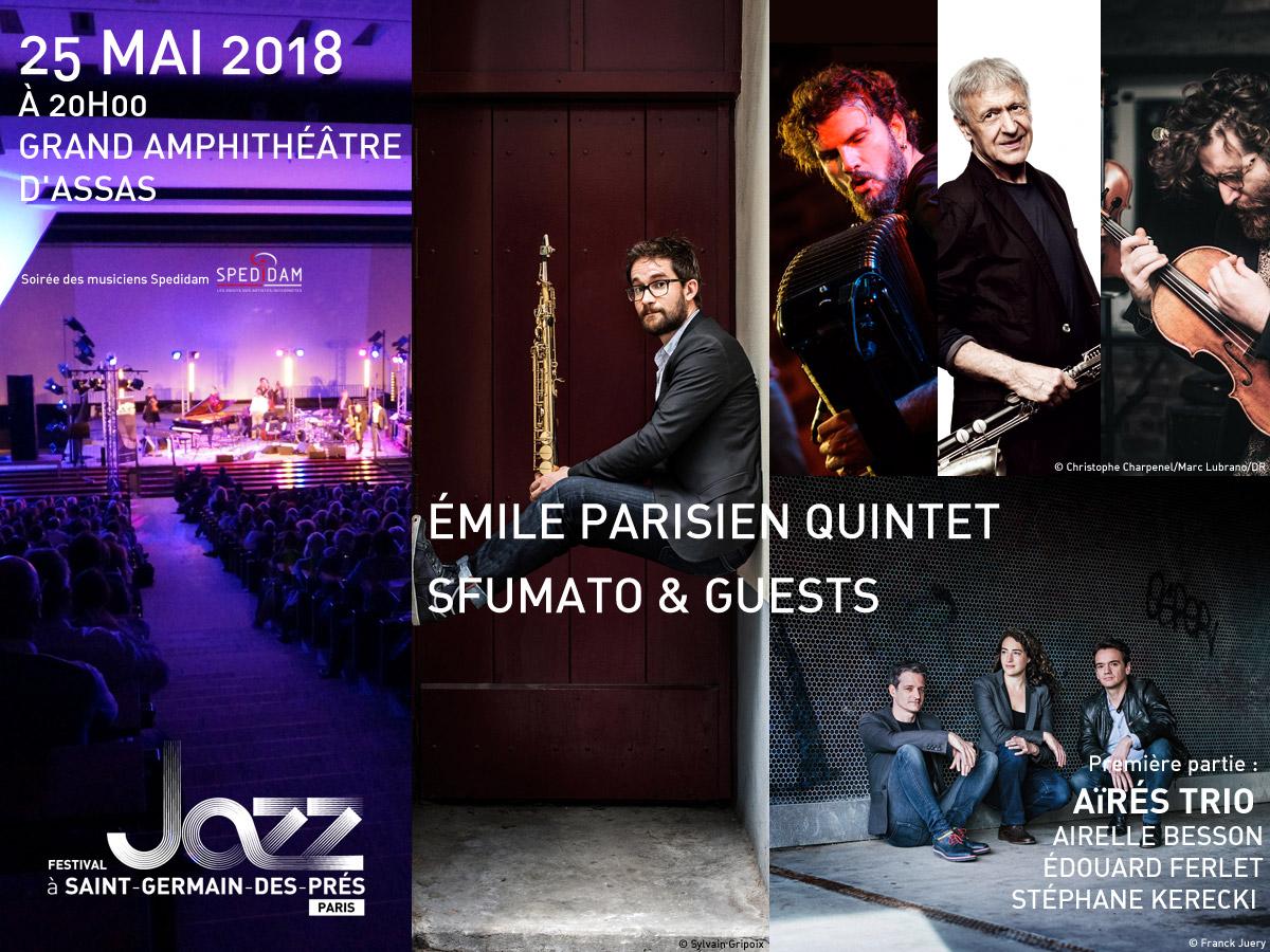 Visuel du concert Jazz du 25 mai 2018 à Assas