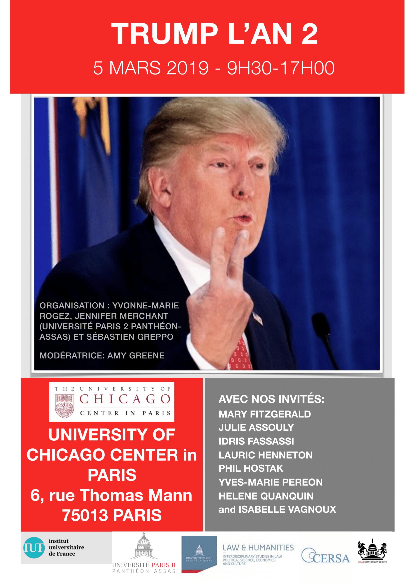 Affiche Trump, year 2 - Trump, l'an 2
