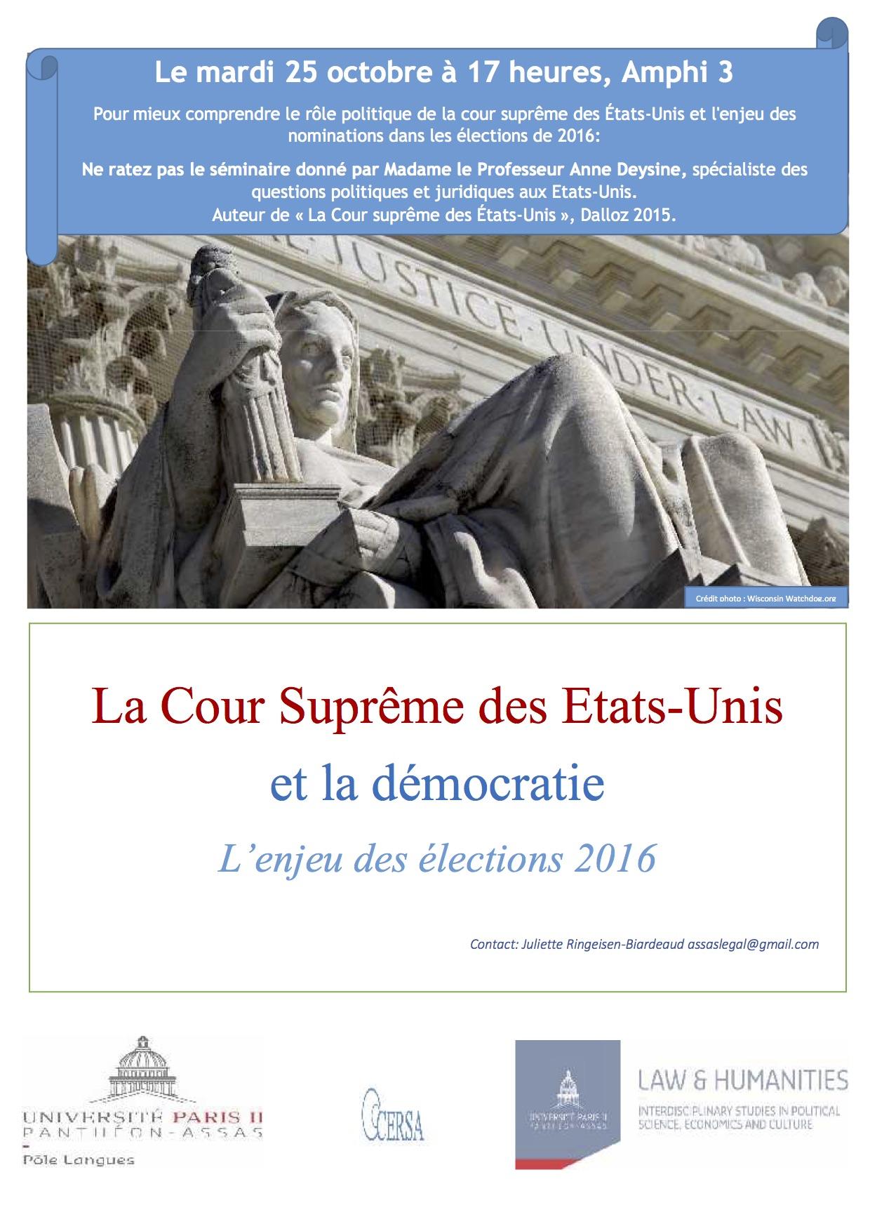 Séminaire Law & Humanities