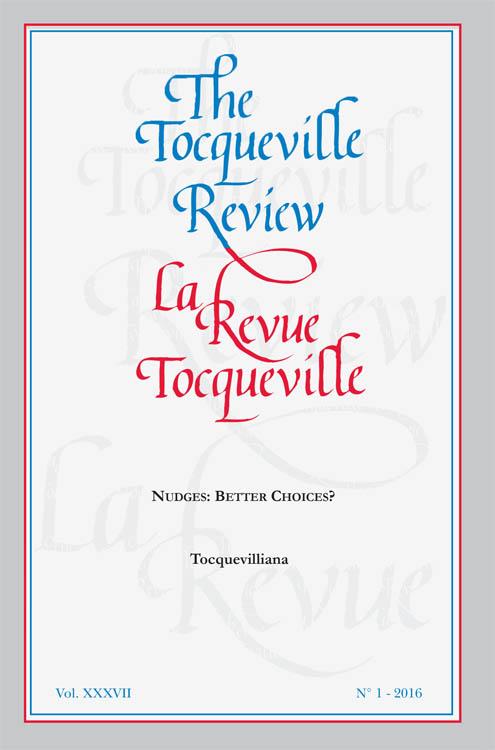 Couverture du livre La Revue Tocqueville