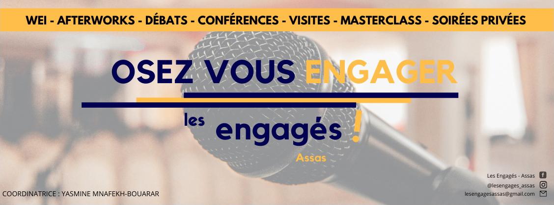 Visuel de l'association Les engagés d'Assas