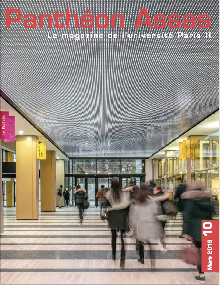Panthéon-Assas Magazine, numéro 10 - Mars 2019