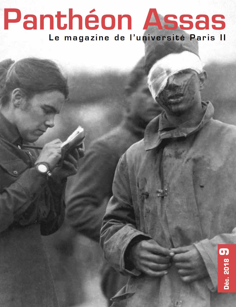 Couverture du magazine Panthéon-Assas, numéro 9 - décembre 2018