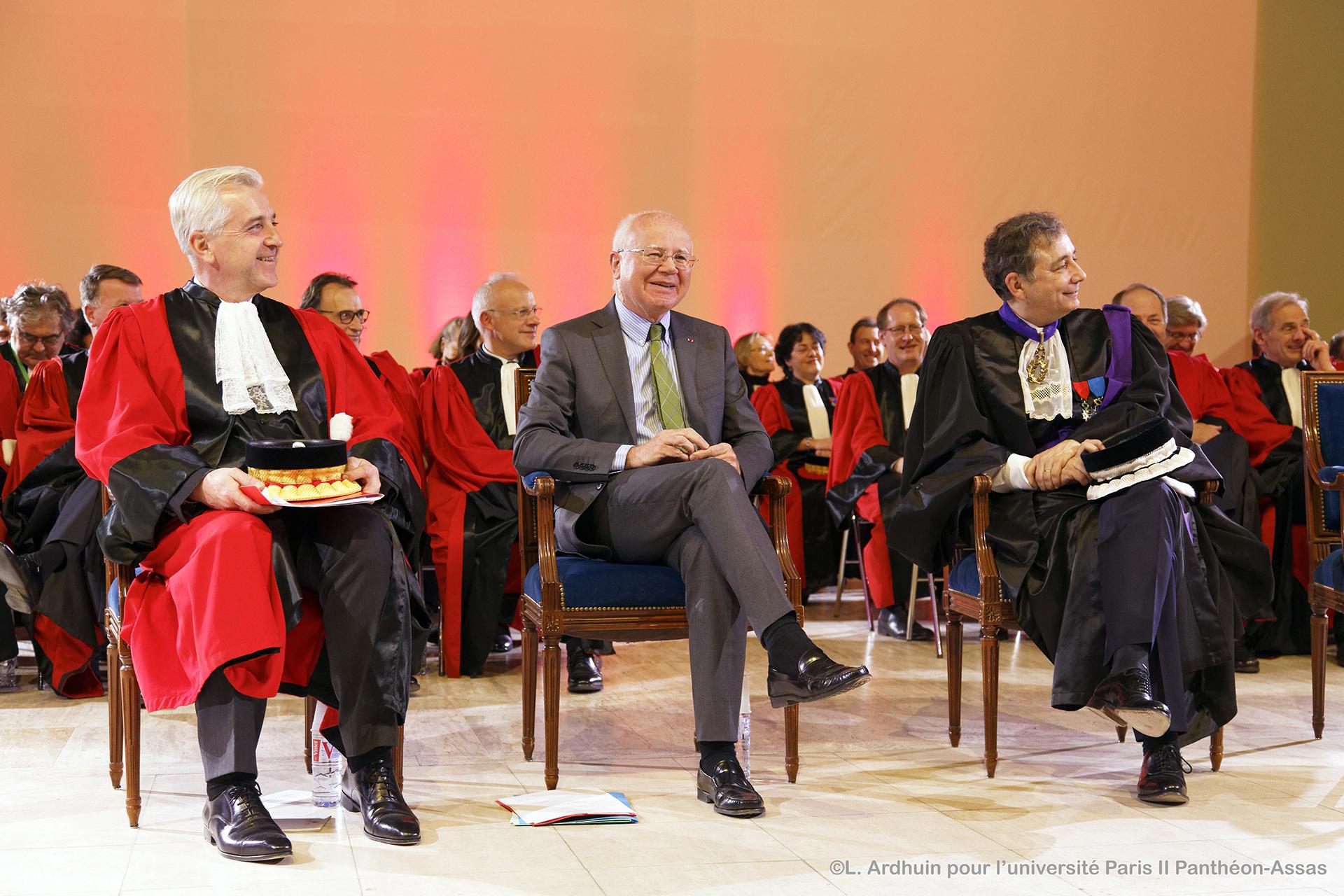 M. Guillaume Leyte, M. Bruno Lasserre et M. Gilles Pécout