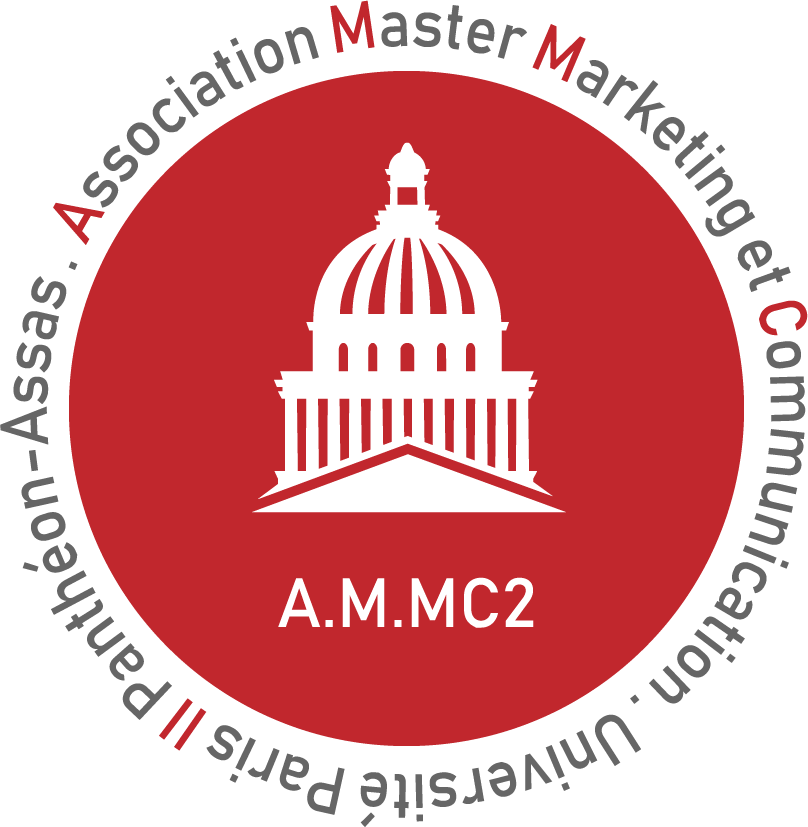 Logo de l'Association Master Marketing et Communication (A.M.MC2)