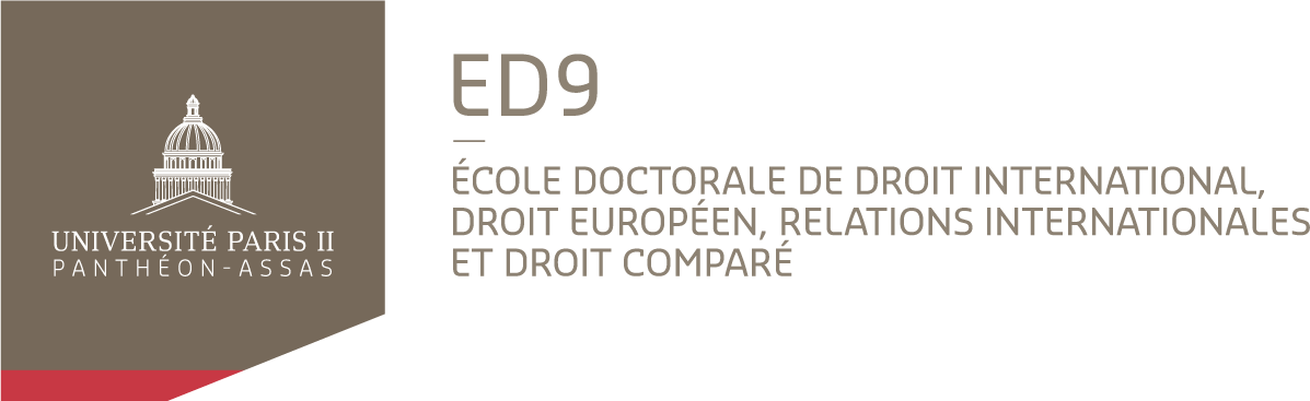 Ecole doctorale de droit international, droit européen, relations internationales et droit comparé (ED 9)