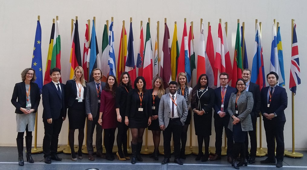 Photo de classe du LLM in European Law