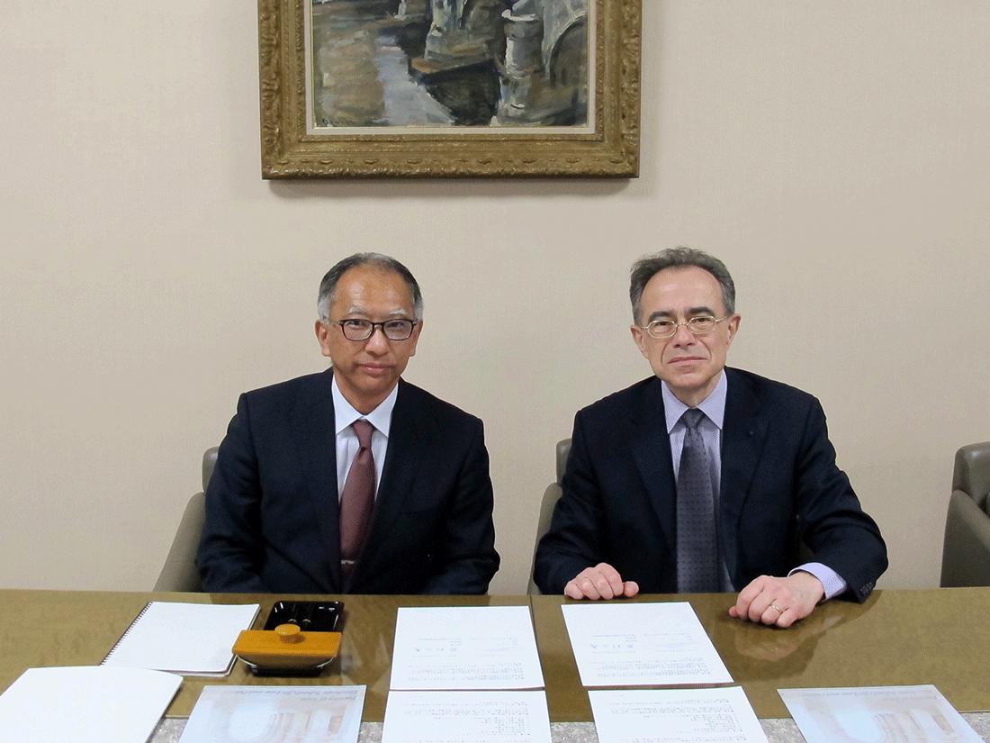 Accord de coopération entre l'université Paris 2 et la faculté de droit de l'université de Tokyo