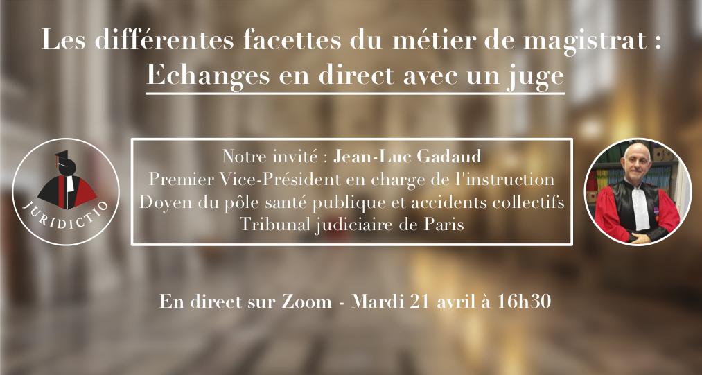 Conférence 2 association étudiante Juridictio