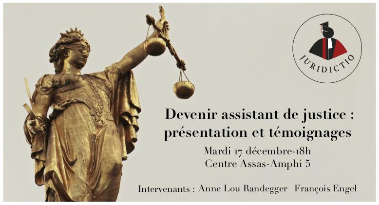 Conférence 1 association étudiante Juridictio