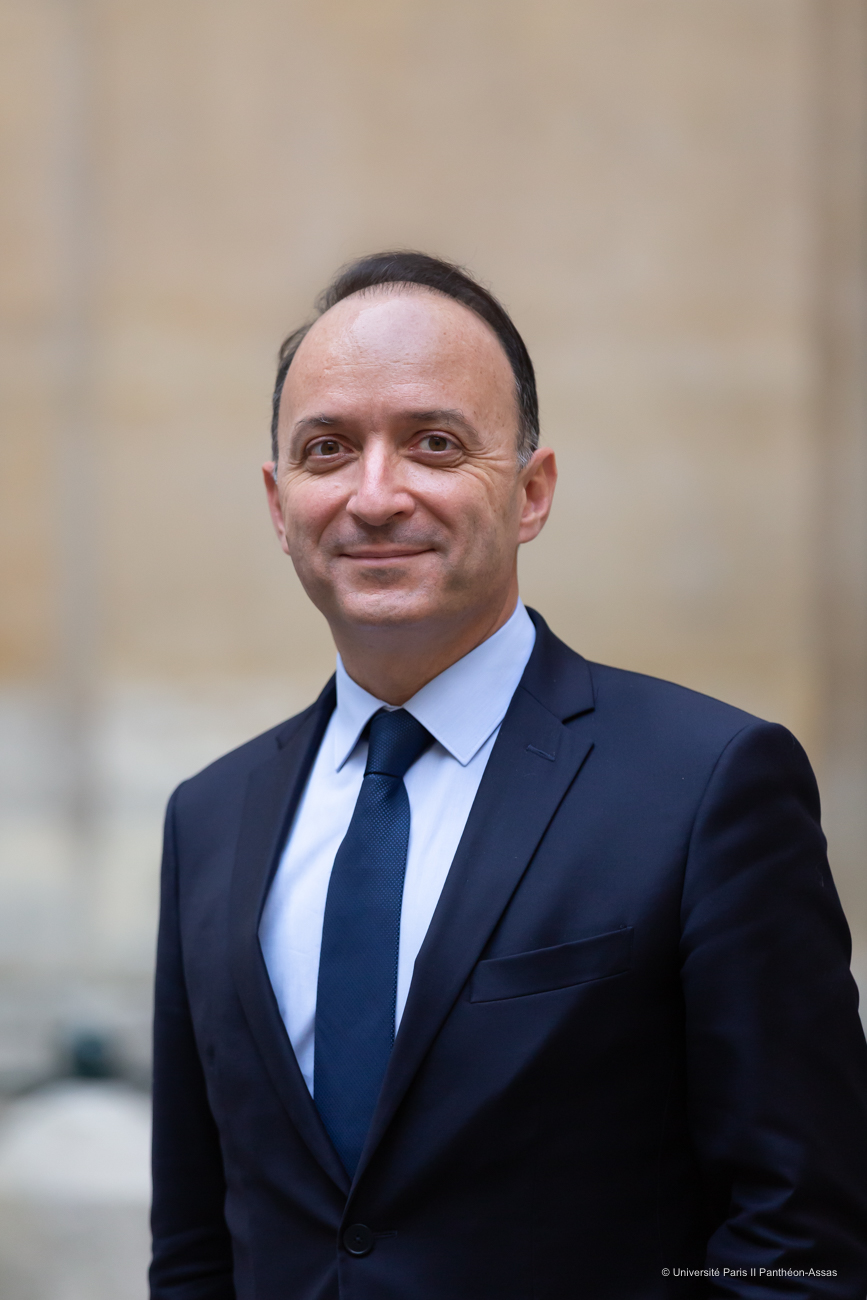 Stéphane Braconnier, président de l'université Paris 2 Panthéon-Assas
