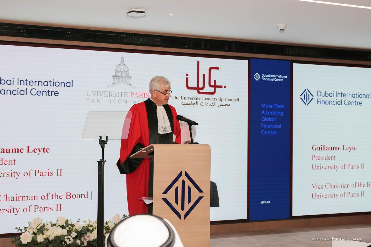 Guillaume Leyte, président de l'université Paris 2