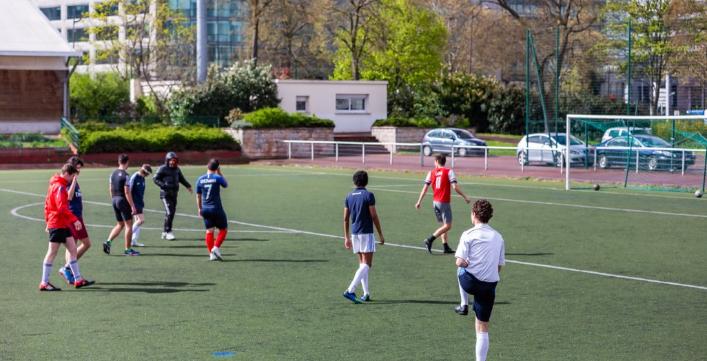 Football à l'université Paris 2