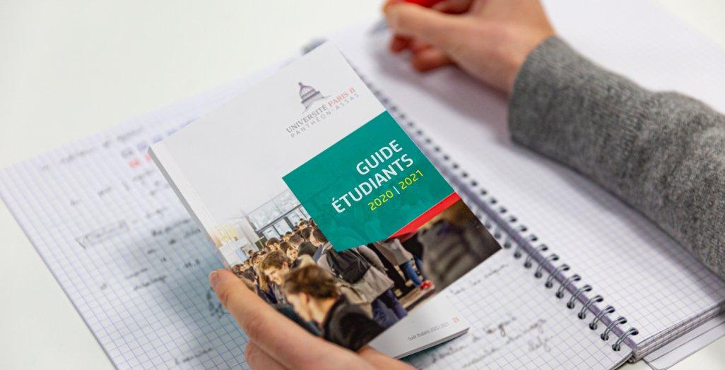 Guide étudiants 2020-2021 de l'université Paris 2