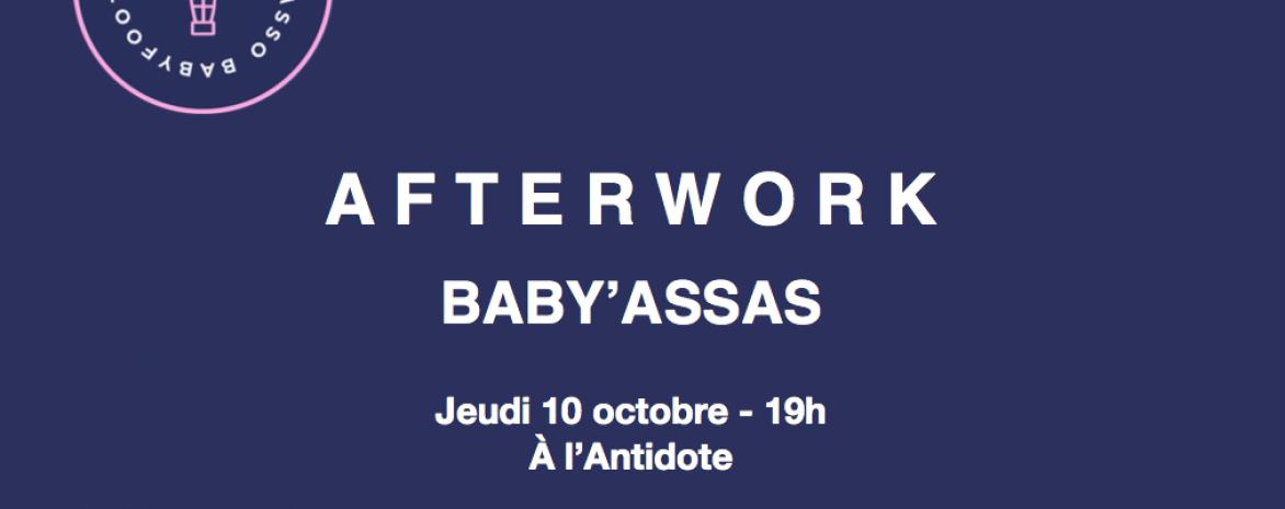 Affiche Afterwork Baby Assas
