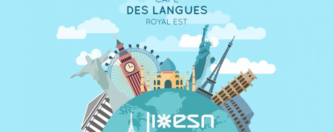 Affiche Café des Langues