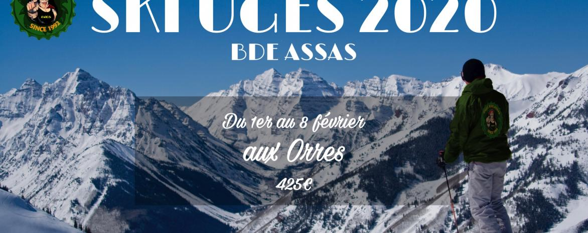 Affiche de l'évènement Ski UGES 2020