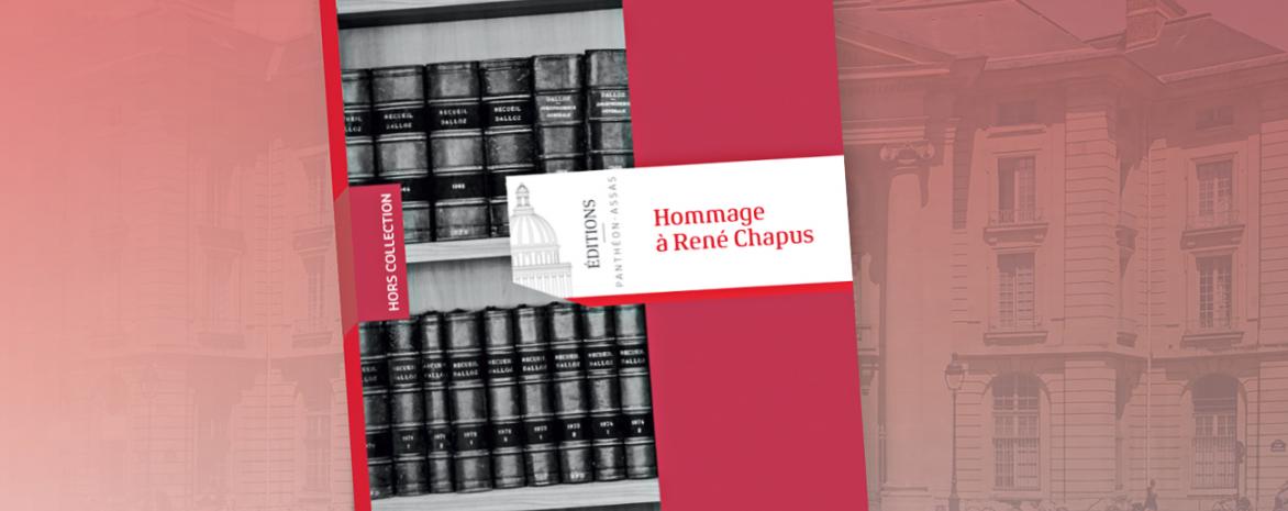 Couverture de l'ouvrage Hommage à René Chapus