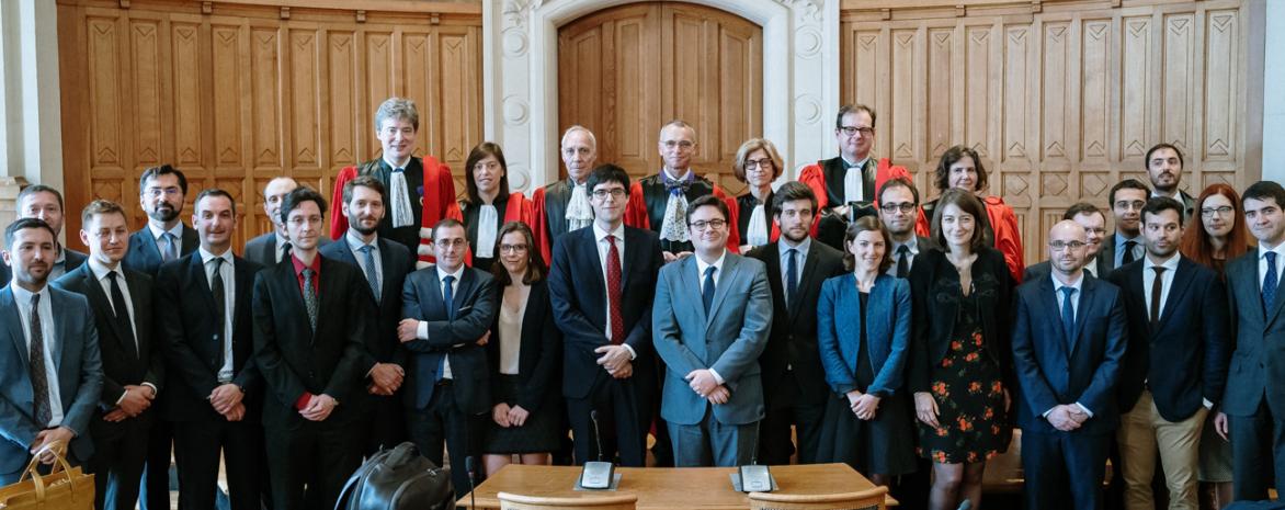 Lauréats du concours national d'agrégation de droit privé et de sciences criminelles 2018-2019