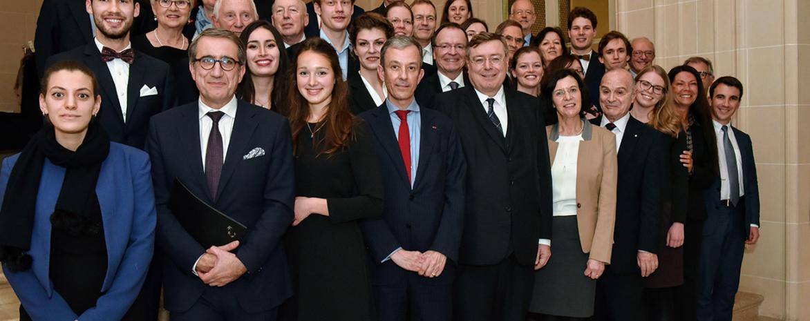Photo des lauréats du prix d'excellence de l'UFA 2018
