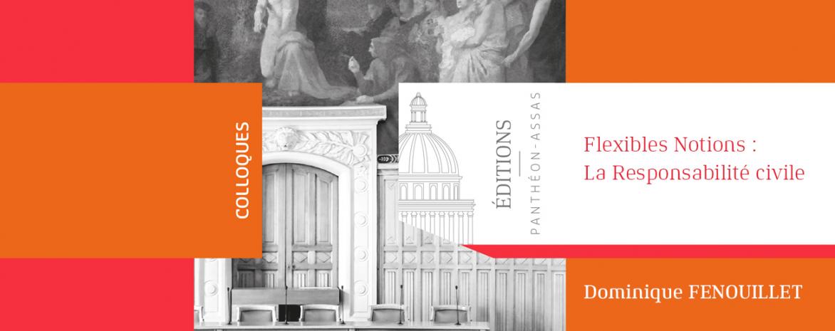 Couverture de l'ouvrage de Dominique Fenouillet Flexibles Notions: La Responsabilité civile