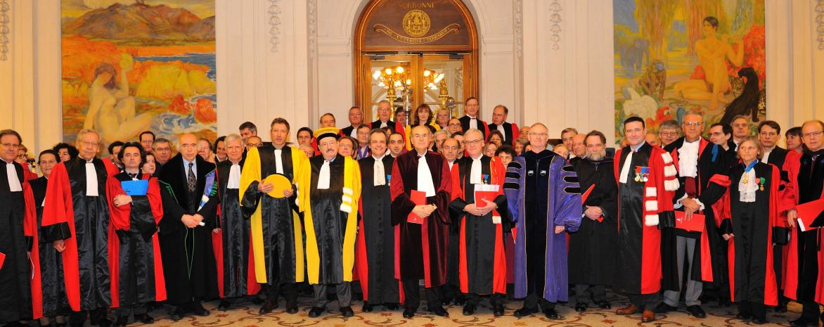 2010 Doctorat honoris causa en sorbonne