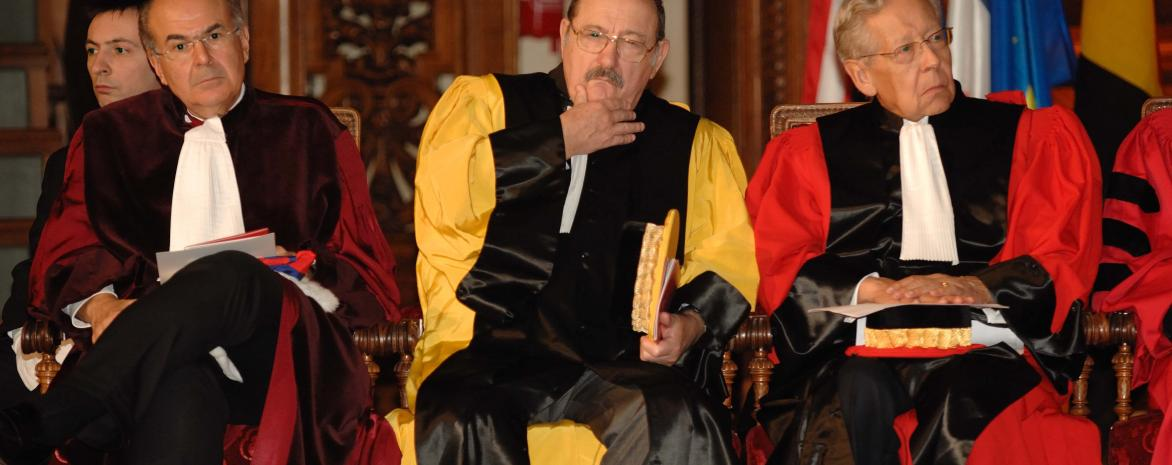 Hommage à Umberto Eco, Docteur honoris causa de l'université Paris 2 Panthéon-Assas