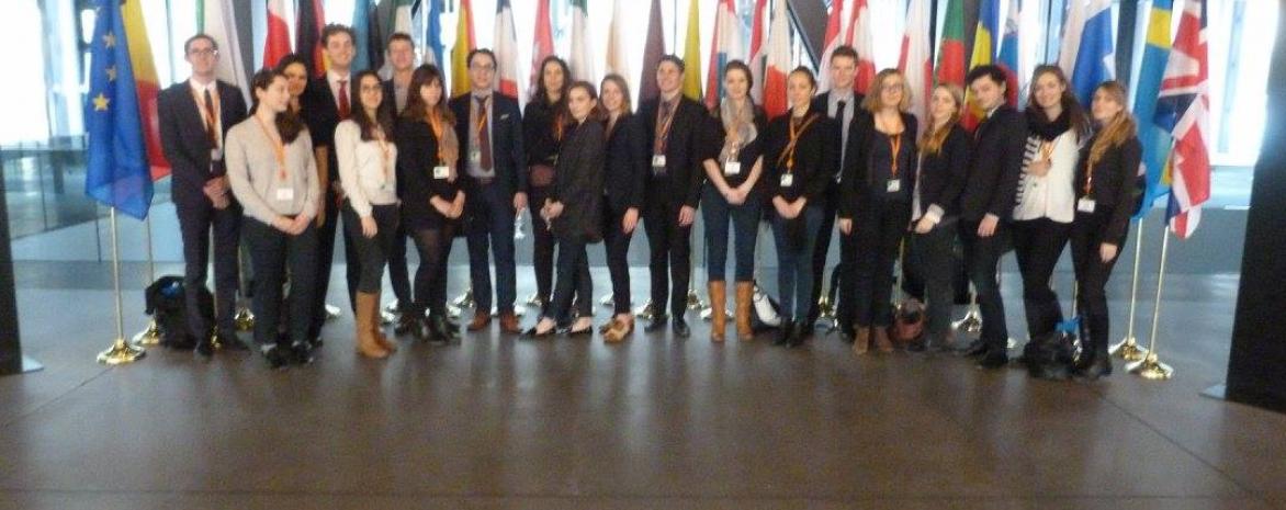 Voyage au Luxembourg avec le Master 2 Droit et contentieux de l'Union européenne