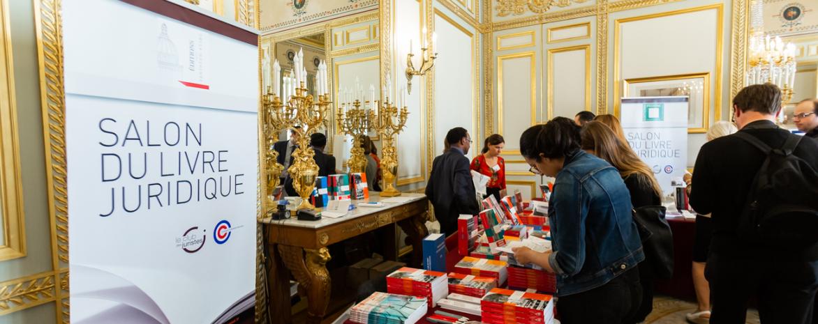 Les Éditions Panthéon-Assas présentes au salon du livre juridique 2018