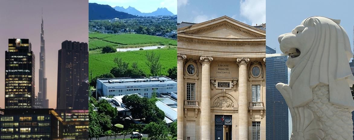 LL.M - LL.B Dubaï - Paris - St Maurice | Mauritius - Singapour | Singapor