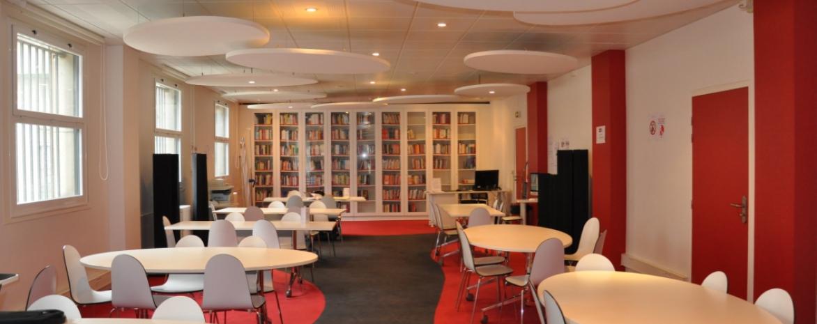 Bibliothèque Guy de la Brosse, université Paris 2 Panthéon-Assas