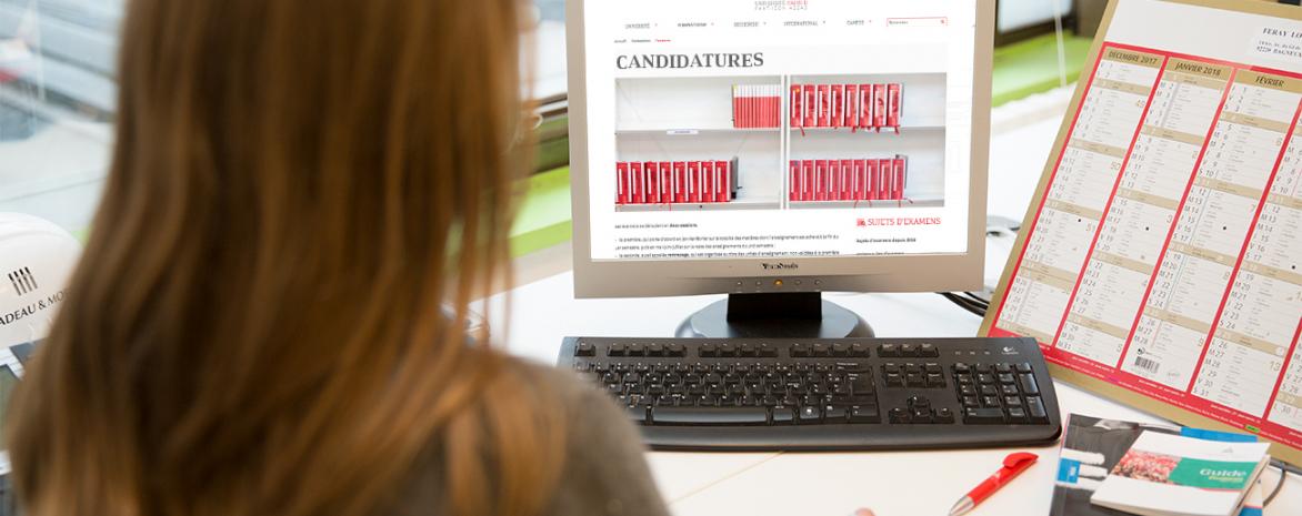Candidatures en ligne