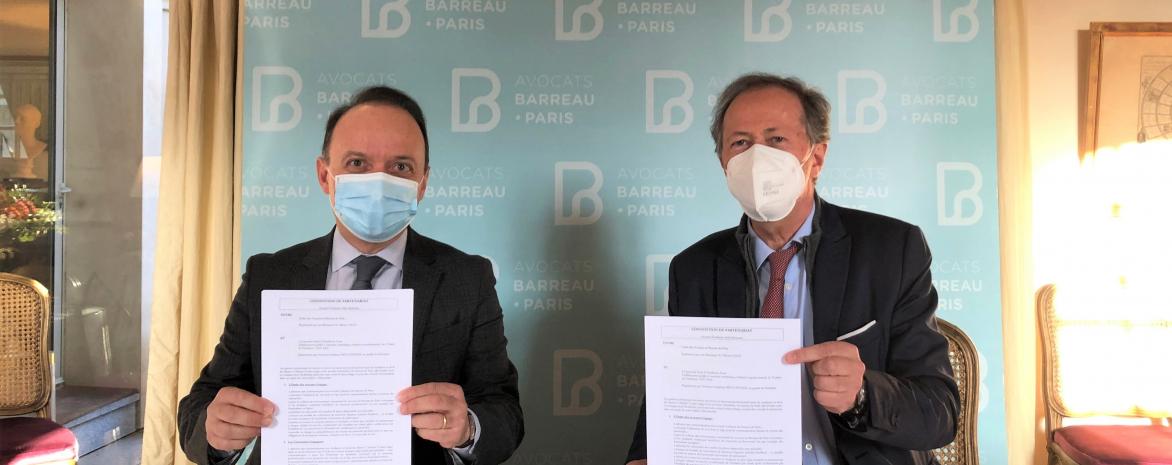 Partenariat entre l'université Paris 2 et l'Ordre des avocats de Paris