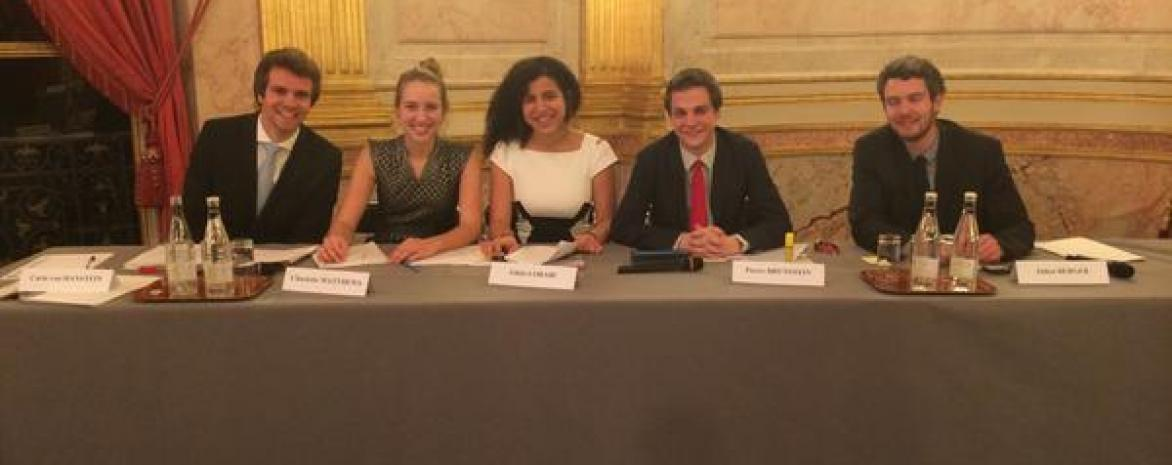 Frennch debating Tournament 2015