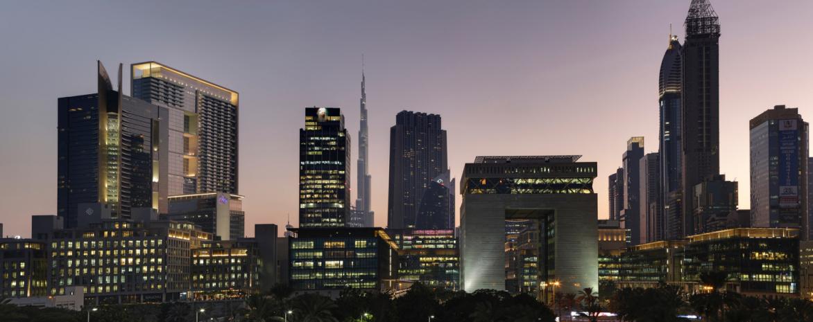 Vue de Dubaï