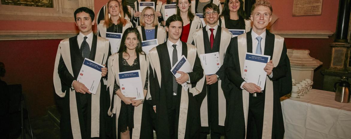 Cérémonie du programme Juriste Européen au King's College London