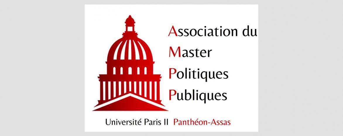Logo de l'association étudiante du Master Administration et Politiques Publiques (AMPP)