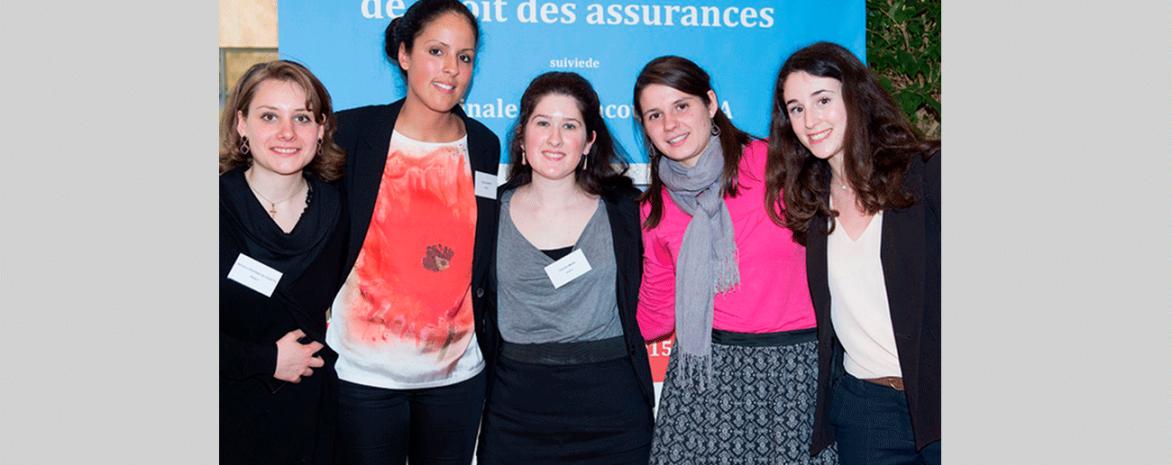 Les étudiants du master Assurances au concours Aléa
