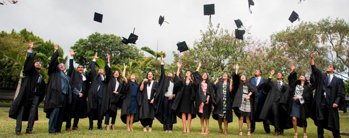 Les diplômés du LL.M. en Droit international des Affaires du campus de Maurice