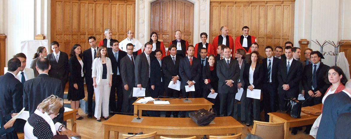 Lauréats du premier concours national d'agrégation de droit privé et de sciences criminelles