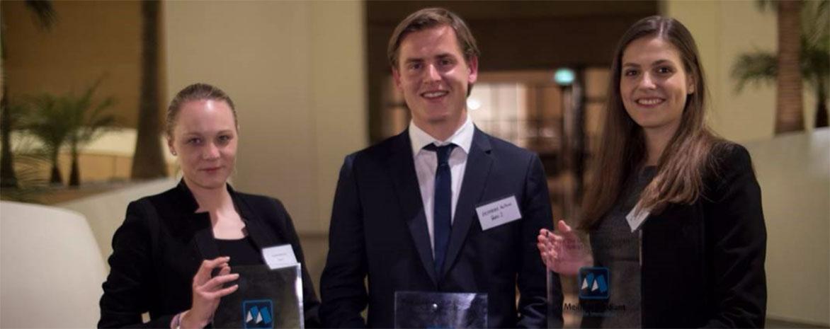 Les lauréats du prix du meilleur étudiant juriste immobilier 2016