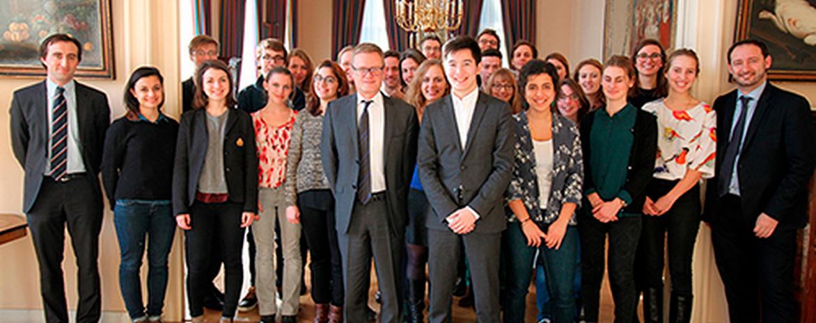 Voyage d'étude à la Haye de l'Association des juristes européens